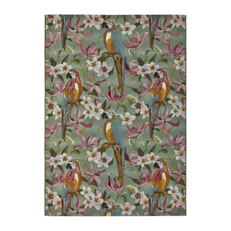 Calypso 219X kültéri szőnyeg tiffany papagájokkal 160x230 cm